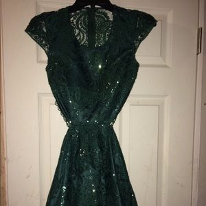 Homecoming dress (size 3) only worn once!